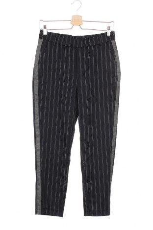 Γυναικείο παντελόνι Zara Trafaluc, Μέγεθος XS, Χρώμα Μπλέ, 64% πολυεστέρας, 35% βισκόζη, 1% ελαστάνη, Τιμή 36,37€