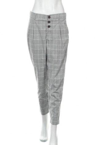 Γυναικείο παντελόνι Zara Trafaluc, Μέγεθος M, Χρώμα Γκρί, 65% πολυεστέρας, 33% βισκόζη, 2% ελαστάνη, Τιμή 17,28€