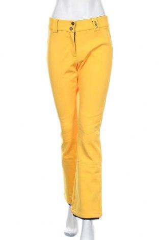 Дамски панталон за зимни спортове CMP, Размер M, Цвят Оранжев, 49% полиамид, 38% полиестер, 13% полиуретан, Цена 84,00лв.