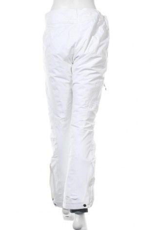 Дамски панталон за зимни спортове Columbia, Размер M, Цвят Бял, 90% полиестер, 10% еластан, Цена 149,25лв.