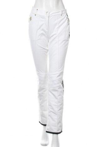 Дамски панталон за зимни спортове Dare 2b X Julien Macdonald, Размер M, Цвят Бял, Полиестер, Цена 59,75лв.