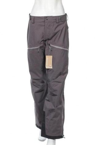 Дамски панталон за зимни спортове Houdini, Размер M, Цвят Сив, Полиестер, Цена 194,25лв.