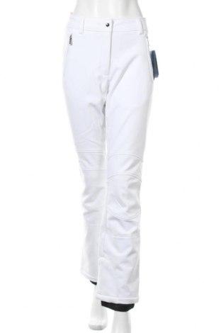 Дамски панталон за зимни спортове Icepeak, Размер M, Цвят Бял, 90% полиестер, 10% еластан, Цена 96,75лв.