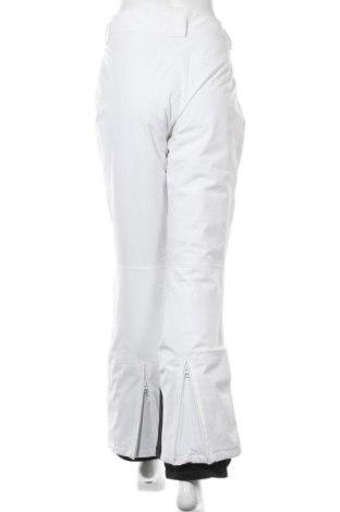 Дамски панталон за зимни спортове Icepeak, Размер L, Цвят Бял, 94% полиестер, 6% еластан, Цена 61,92лв.