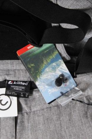 Дамски панталон за зимни спортове Killtec, Размер L, Цвят Сив, Полиестер, Цена 49,02лв.