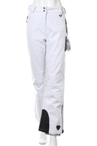 Дамски панталон за зимни спортове Killtec, Размер L, Цвят Бял, 94% полиестер, 6% еластан, Цена 46,36лв.
