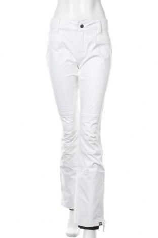 Дамски панталон за зимни спортове Roxy, Размер M, Цвят Бял, 89% полиестер, 11% еластан, Цена 46,50лв.