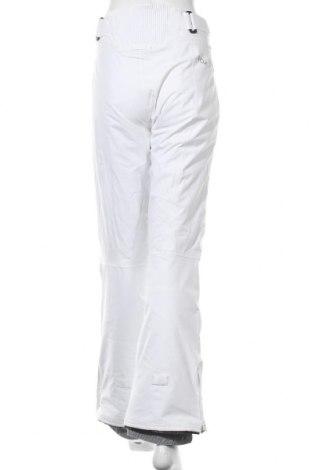 Дамски панталон за зимни спортове Roxy, Размер L, Цвят Бял, Полиестер, Цена 46,50лв.