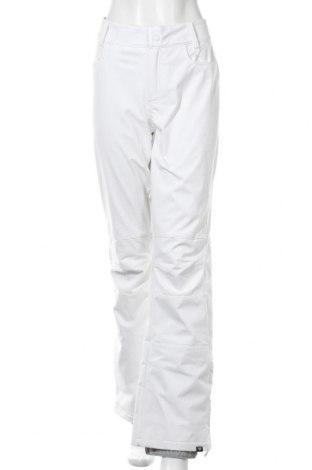 Дамски панталон за зимни спортове Roxy, Размер XL, Цвят Бял, 89% полиестер, 11% еластан, Цена 74,40лв.