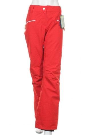 Дамски панталон за зимни спортове WearColour, Размер XL, Цвят Червен, Полиестер, Цена 91,60лв.