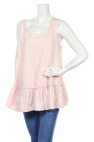 Дамски потник Alexia, Размер XXL, Цвят Розов, 60% памук, 40% полиестер, Цена 17,85лв.