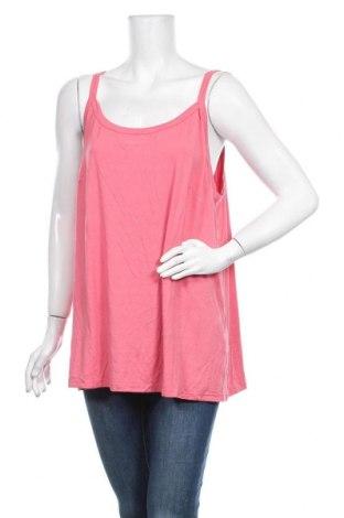 Γυναικείο αμάνικο μπλουζάκι Autograph, Μέγεθος XXL, Χρώμα Ρόζ , 95% βισκόζη, 5% ελαστάνη, Τιμή 9,87€