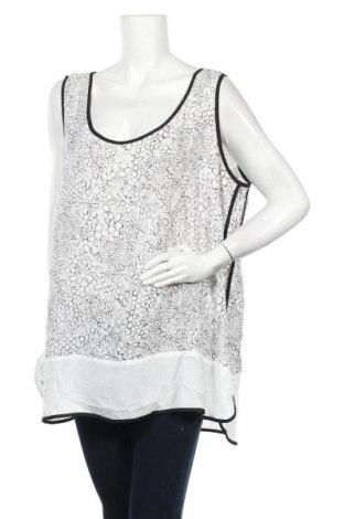 Γυναικείο αμάνικο μπλουζάκι Autograph, Μέγεθος 3XL, Χρώμα Λευκό, Πολυεστέρας, Τιμή 8,28€