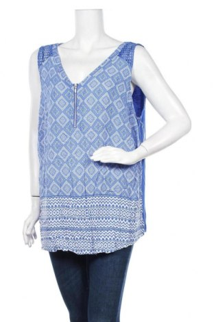 Γυναικείο αμάνικο μπλουζάκι Autograph, Μέγεθος XXL, Χρώμα Μπλέ, Βισκόζη, Τιμή 8,83€