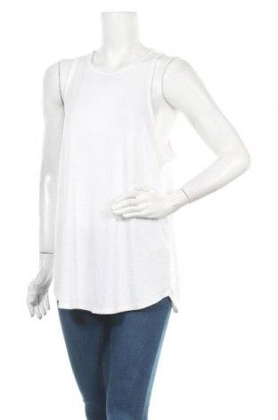 Γυναικείο αμάνικο μπλουζάκι Banana Republic, Μέγεθος XL, Χρώμα Λευκό, 48% πολυεστέρας, 48% βισκόζη, 4% ελαστάνη, Τιμή 5,57€