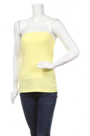 Дамски потник Blue Motion, Размер M, Цвят Жълт, 95% памук, 5% еластан, Цена 3,41лв.