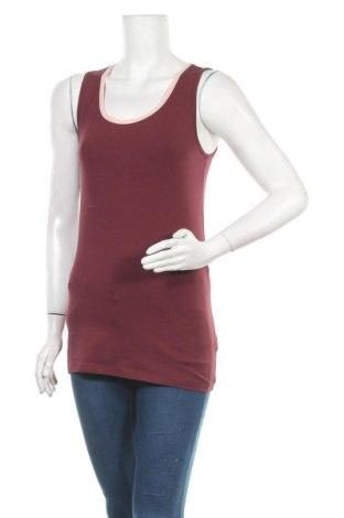 Γυναικείο αμάνικο μπλουζάκι Boysen's, Μέγεθος S, Χρώμα Κόκκινο, 95% βαμβάκι, 5% ελαστάνη, Τιμή 7,37€