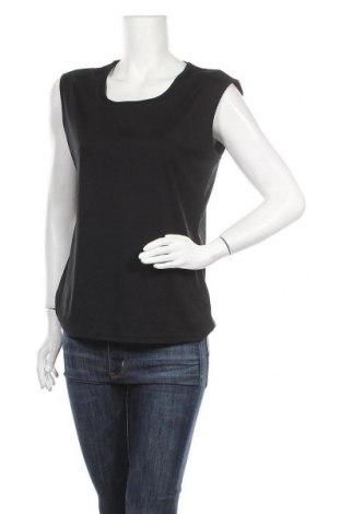 Γυναικείο αμάνικο μπλουζάκι Charles Vogele, Μέγεθος M, Χρώμα Μαύρο, Πολυεστέρας, Τιμή 8,31€