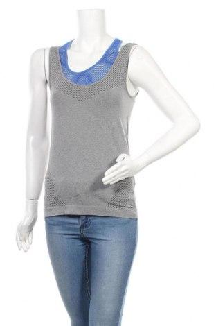 Γυναικείο αμάνικο μπλουζάκι Crivit, Μέγεθος M, Χρώμα Γκρί, 58% πολυαμίδη, 34% πολυεστέρας, 8% ελαστάνη, Τιμή 10,49€