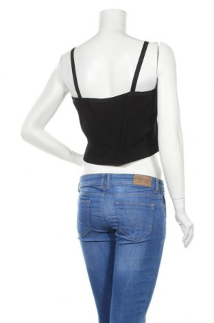 Γυναικείο αμάνικο μπλουζάκι Dr. Denim, Μέγεθος XL, Χρώμα Μαύρο, 97% βαμβάκι, 3% ελαστάνη, Τιμή 4,69€