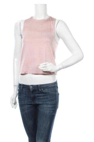 Γυναικείο αμάνικο μπλουζάκι H&M Sport, Μέγεθος XS, Χρώμα Ρόζ , Πολυεστέρας, Τιμή 6,23€