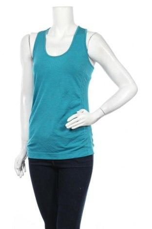 Γυναικείο αμάνικο μπλουζάκι H&M Sport, Μέγεθος L, Χρώμα Πράσινο, Τιμή 5,36€