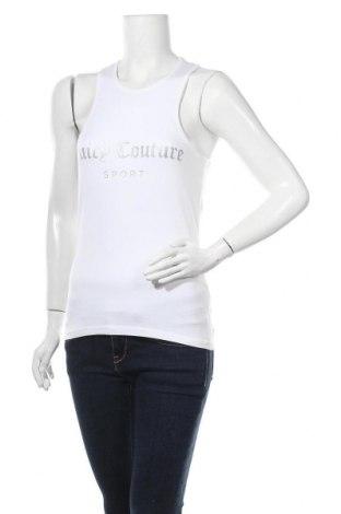 Γυναικείο αμάνικο μπλουζάκι Juicy Couture, Μέγεθος S, Χρώμα Λευκό, 95% βαμβάκι, 5% ελαστάνη, Τιμή 19,56€