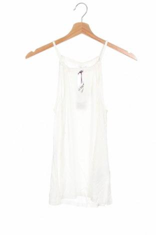 Γυναικείο αμάνικο μπλουζάκι Lascana, Μέγεθος XS, Χρώμα Λευκό, Βισκόζη, Τιμή 14,65€