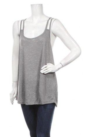 Γυναικείο αμάνικο μπλουζάκι Mix, Μέγεθος XL, Χρώμα Γκρί, Πολυεστέρας, βισκόζη, Τιμή 11,04€