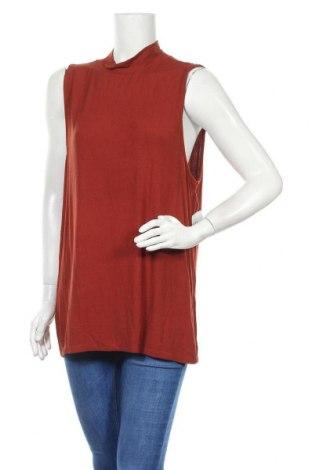 Γυναικείο αμάνικο μπλουζάκι Mix, Μέγεθος XL, Χρώμα Κόκκινο, Βισκόζη, ελαστάνη, Τιμή 13,80€