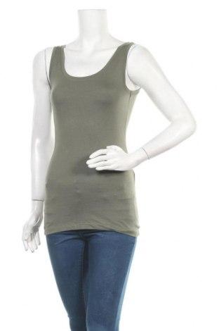 Γυναικείο αμάνικο μπλουζάκι Modstrom, Μέγεθος S, Χρώμα Πράσινο, 48% βαμβάκι, 48% μοντάλ, 4% ελαστάνη, Τιμή 9,72€