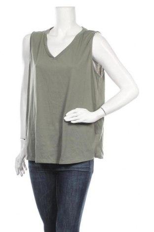 Γυναικείο αμάνικο μπλουζάκι Suzanne Grae, Μέγεθος XL, Χρώμα Πράσινο, Πολυεστέρας, βαμβάκι, Τιμή 4,68€