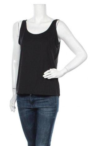 Γυναικείο αμάνικο μπλουζάκι Suzanne Grae, Μέγεθος L, Χρώμα Μαύρο, Πολυεστέρας, ελαστάνη, Τιμή 2,95€