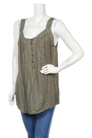 Γυναικείο αμάνικο μπλουζάκι Suzanne Grae, Μέγεθος XL, Χρώμα Πράσινο, Βισκόζη, πολυεστέρας, Τιμή 3,86€