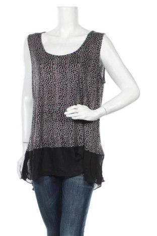 Γυναικείο αμάνικο μπλουζάκι Suzanne Grae, Μέγεθος XL, Χρώμα Πολύχρωμο, Βισκόζη, πολυεστέρας, Τιμή 9,94€