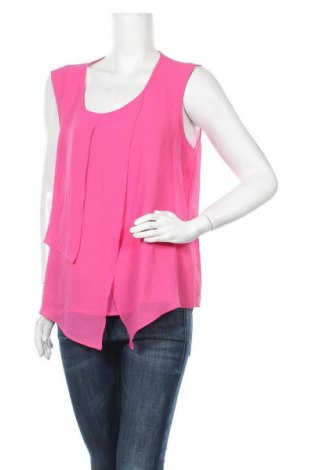 Γυναικείο αμάνικο μπλουζάκι Suzanne Grae, Μέγεθος XL, Χρώμα Ρόζ , Πολυεστέρας, Τιμή 4,09€