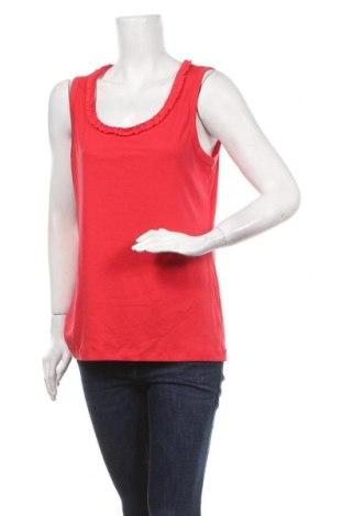 Γυναικείο αμάνικο μπλουζάκι Suzanne Grae, Μέγεθος XL, Χρώμα Κόκκινο, Πολυεστέρας, βαμβάκι, Τιμή 10,52€