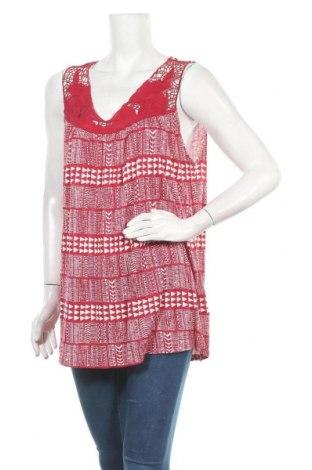 Γυναικείο αμάνικο μπλουζάκι Suzanne Grae, Μέγεθος XXL, Χρώμα Κόκκινο, Βισκόζη, βαμβάκι, Τιμή 9,25€