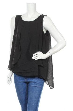 Γυναικείο αμάνικο μπλουζάκι Suzanne Grae, Μέγεθος XL, Χρώμα Μαύρο, Πολυεστέρας, Τιμή 8,18€
