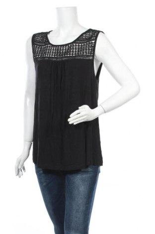 Γυναικείο αμάνικο μπλουζάκι Suzanne Grae, Μέγεθος XL, Χρώμα Μαύρο, Βισκόζη, ελαστάνη, Τιμή 9,35€