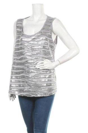 Γυναικείο αμάνικο μπλουζάκι Suzanne Grae, Μέγεθος XL, Χρώμα Γκρί, Τιμή 3,41€
