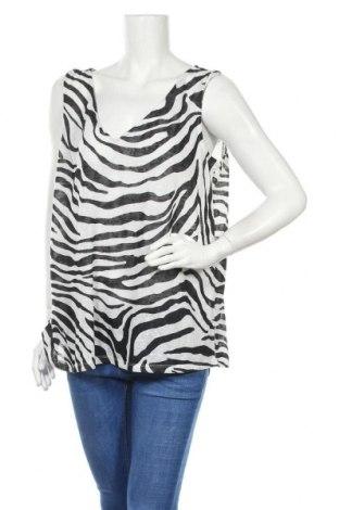 Γυναικείο αμάνικο μπλουζάκι Suzanne Grae, Μέγεθος XL, Χρώμα Λευκό, Πολυεστέρας, Τιμή 12,99€
