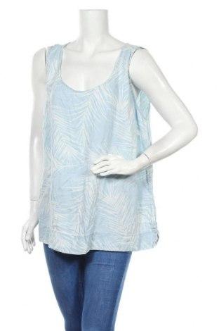 Γυναικείο αμάνικο μπλουζάκι Suzanne Grae, Μέγεθος XXL, Χρώμα Μπλέ, Lyocell, Τιμή 18,12€