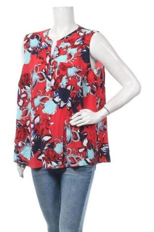 Γυναικείο αμάνικο μπλουζάκι Suzanne Grae, Μέγεθος XL, Χρώμα Κόκκινο, Πολυεστέρας, Τιμή 3,64€