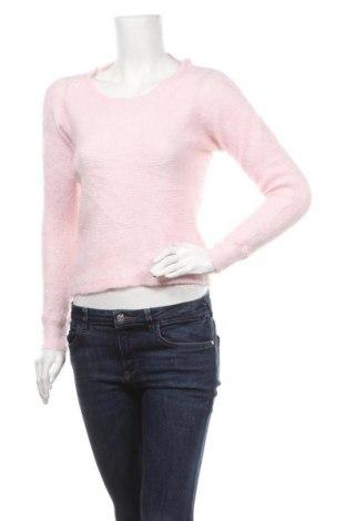 Дамски пуловер Esprit, Размер S, Цвят Розов, 35% вълна, 33% мохер, 32% полиамид, Цена 12,96лв.