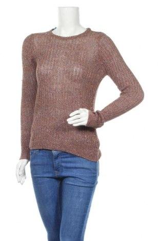 Дамски пуловер Mih Jeans, Размер M, Цвят Многоцветен, 55% лен, 45% памук, Цена 41,70лв.