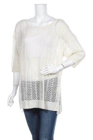 Γυναικείο πουλόβερ Next, Μέγεθος XL, Χρώμα Εκρού, 70%ακρυλικό, 30% λινό, Τιμή 13,45€
