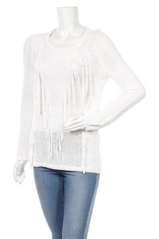 Дамски пуловер Sandro, Размер M, Цвят Бял, 75% вискоза, 25% полиамид, Цена 26,88лв.