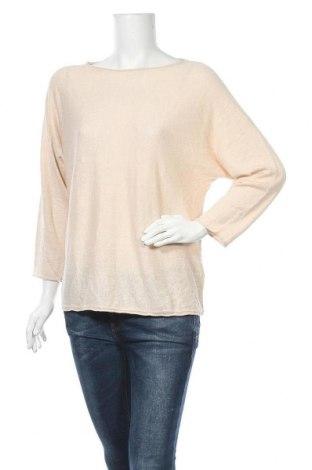 Γυναικείο πουλόβερ Tom Tailor, Μέγεθος M, Χρώμα  Μπέζ, 55% λινό, 45% βισκόζη, Τιμή 13,68€