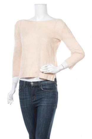 Γυναικείο πουλόβερ Tom Tailor, Μέγεθος S, Χρώμα  Μπέζ, 55% λινό, 45% βισκόζη, Τιμή 13,68€